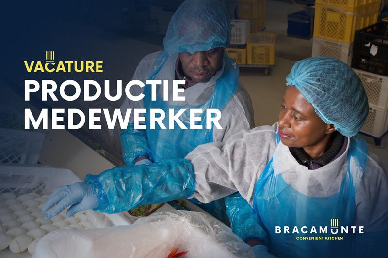 Vacature productiemedewerker